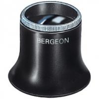 Lupa Bergeon cu inel cu filet - 6,7x
